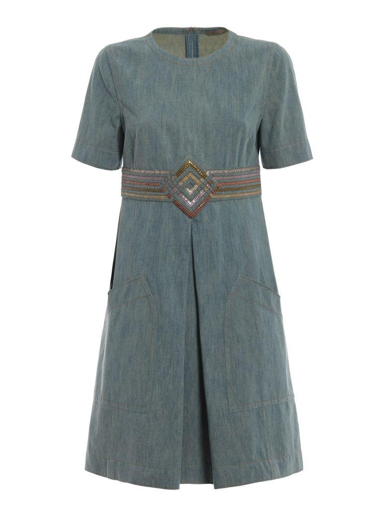 Bottega Veneta Embellished Skirt - Tweedia/multi