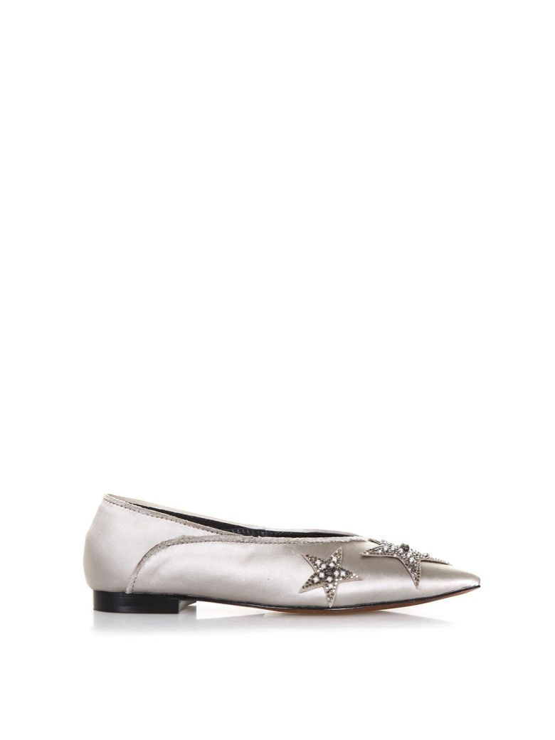 Lola Cruz Palmito Satin Slippers - Nude