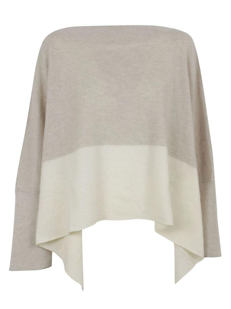 Dusan Over Neck Sweater - Natural