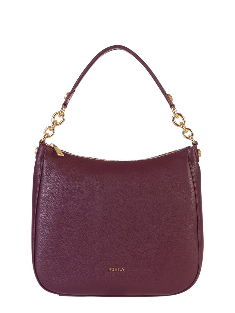 Furla Cometa Hobo Bag - Purple