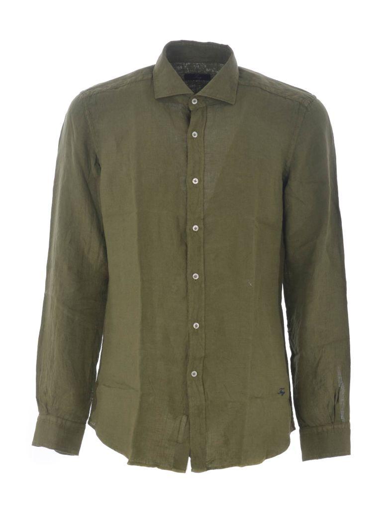 Fay Casual Shirt - Verde militare