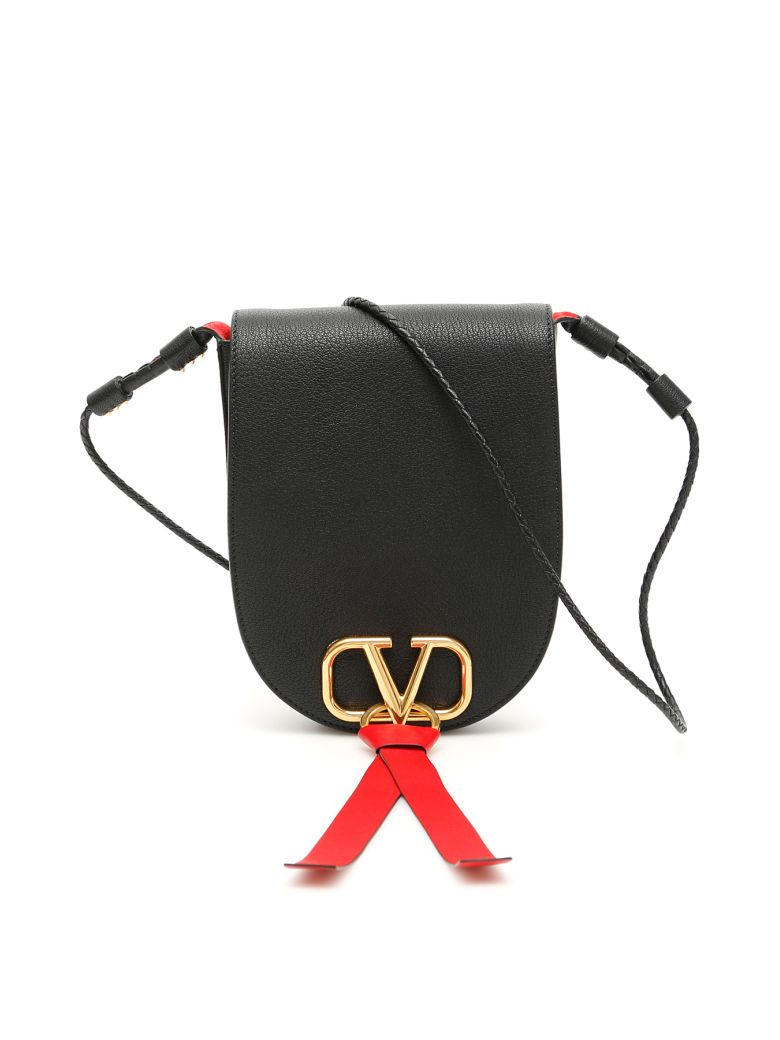 Valentino Vring Crossbody Bag - NERO (Black)