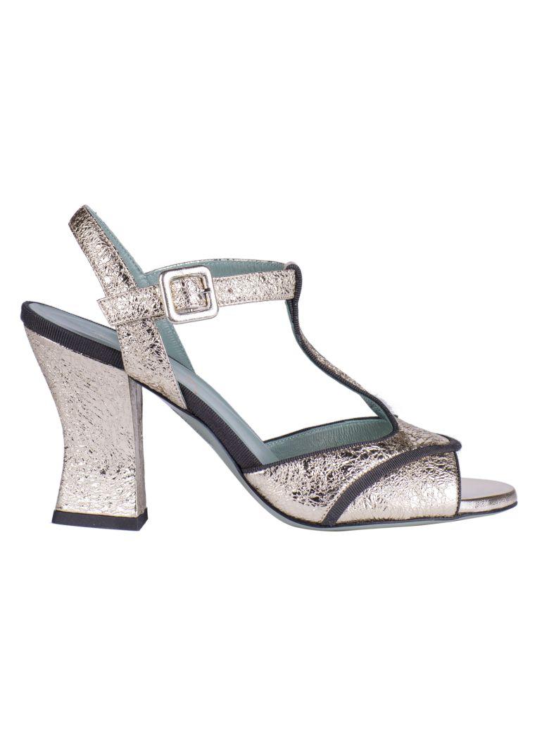 Paola D'Arcano T-bar Sandals - Grey