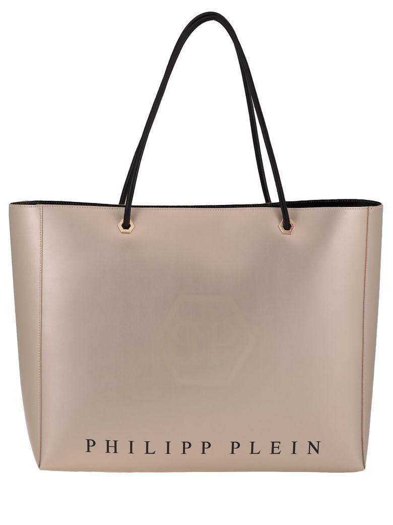 Philipp Plein Leather Bag - GOLD