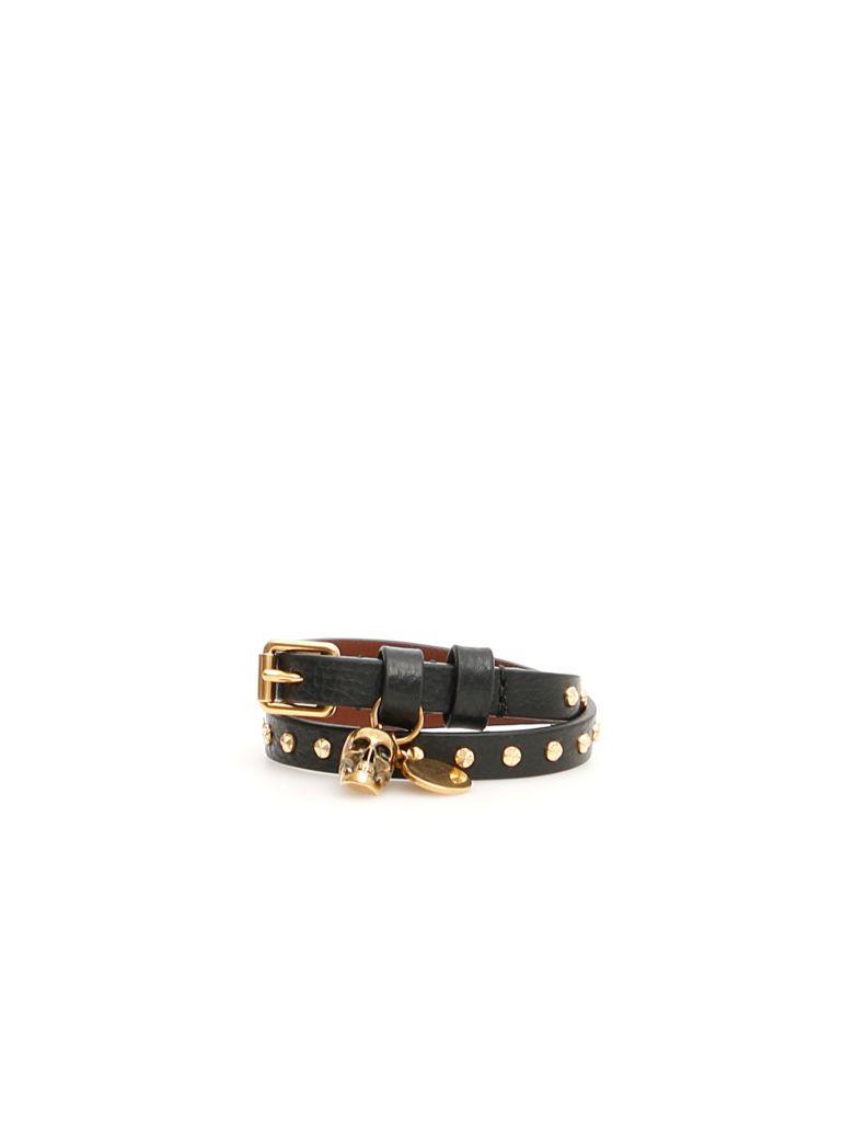 Alexander McQueen Pionier Bracelet - BLACK|Nero