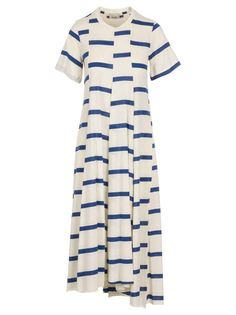 Alysi Cotton Dress - Cobalto