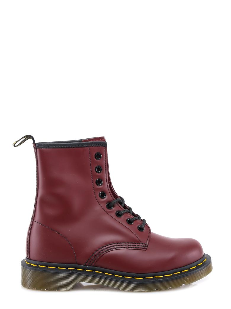 Dr. Martens Ankle Boots - Red