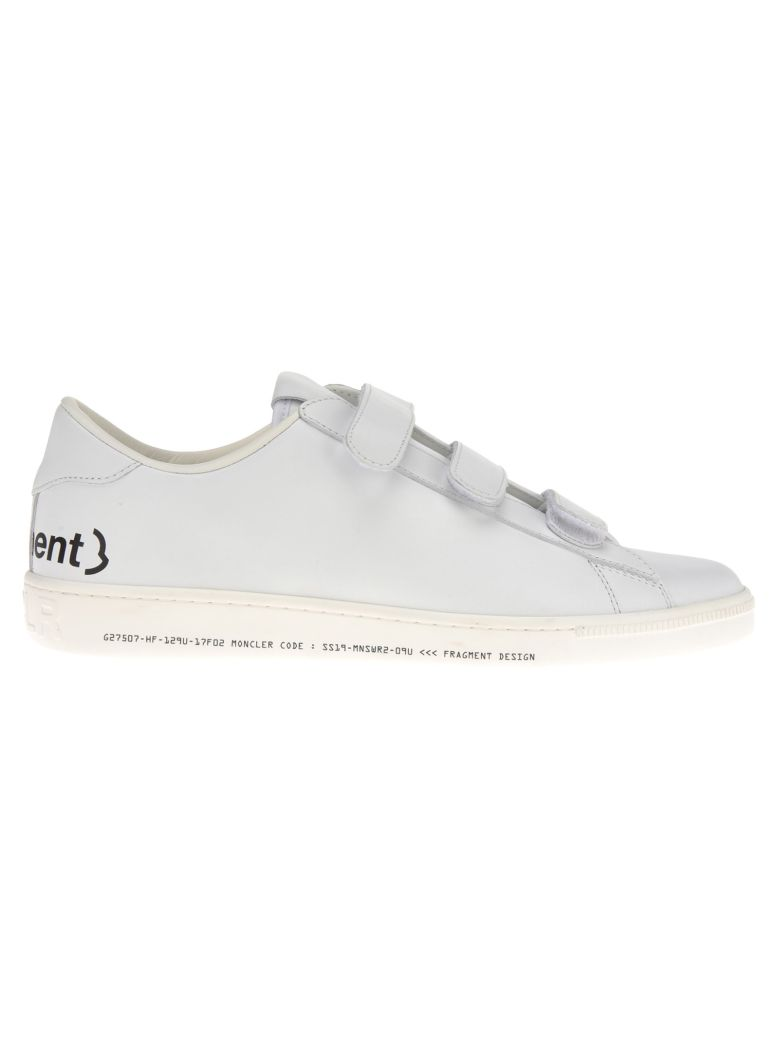 Moncler Fragment Moncler Fragment Fitzroy Sneakers - WHITE/BLACK