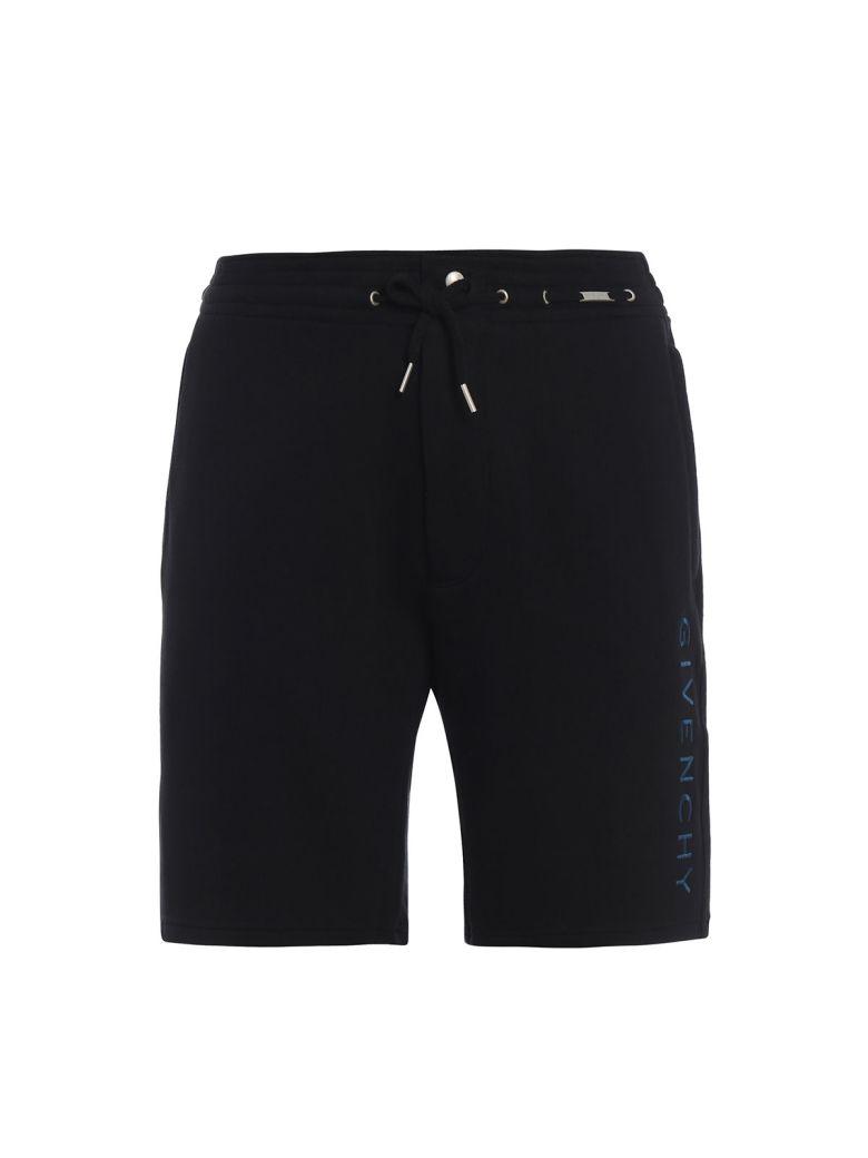 Givenchy Vertical Logo Shorts - Black