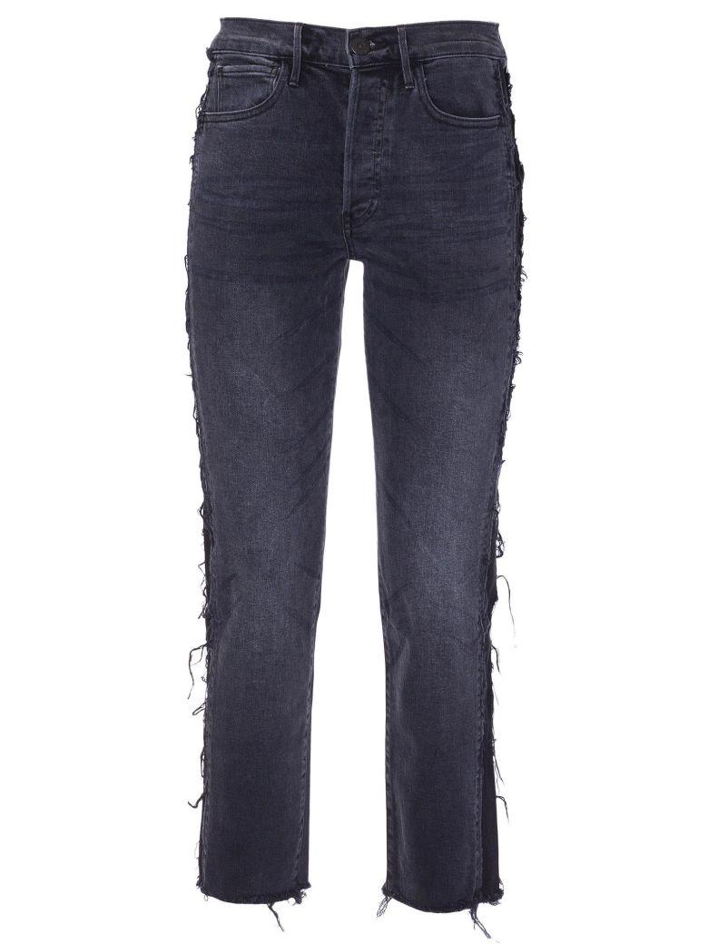 3x1 Frayed Trim Jeans - Jolee