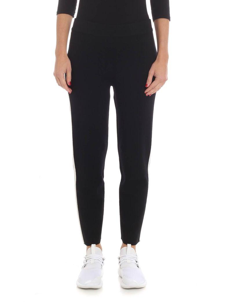 Altea Striped Panel Track Pants - Black