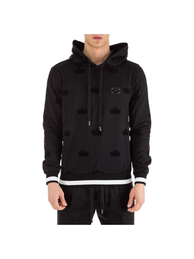 Dolce & Gabbana  Hoodie Sweatshirt Sweat - Black