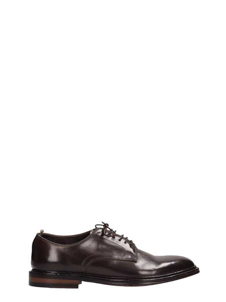 Officine Creative Browne Leather Lace Up Shoes - Brown
