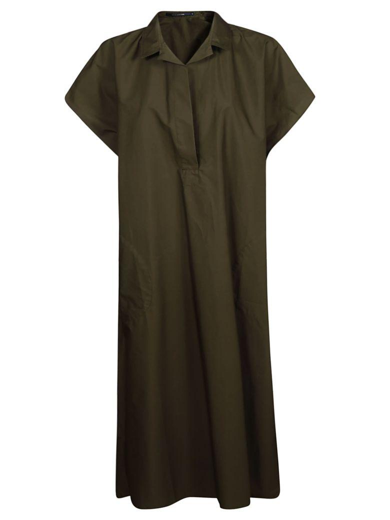 Sofie d'Hoore Sleeveless Cape Style Dress - Brown
