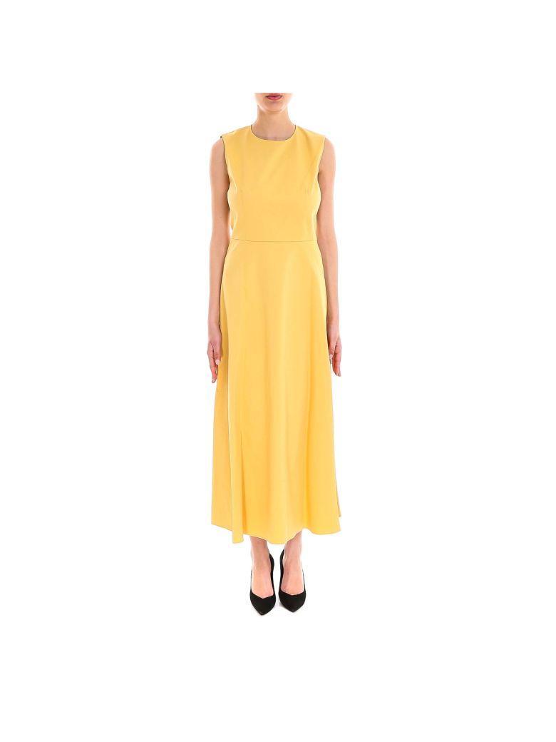 Theory Volume Dart Long Dress - Orange