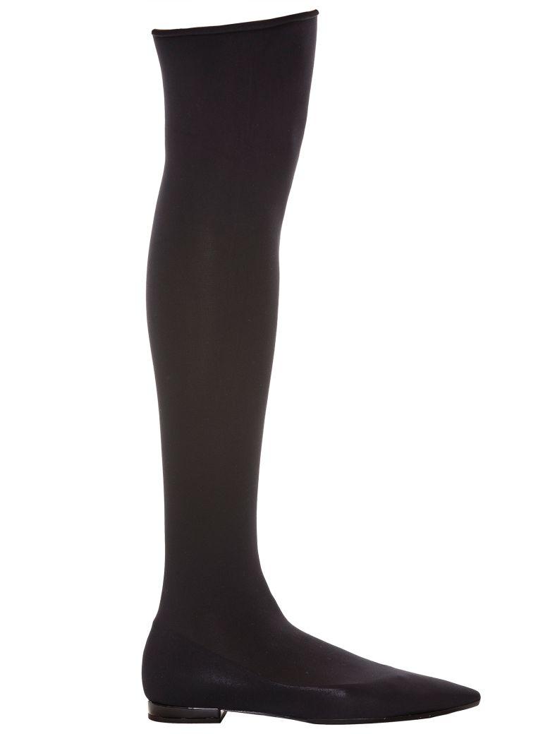 Anna Baiguera Annadea Sock Over-the-knee Boots - NERO