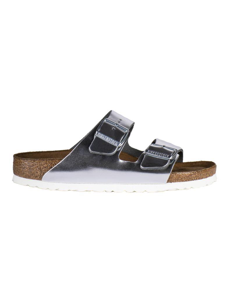 Birkenstock Double Strap Sandals - Silver