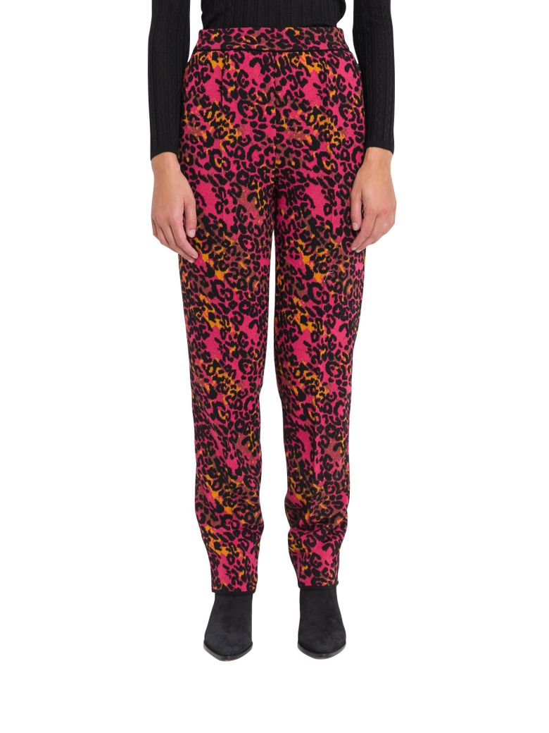M Missoni Animalier Trousers - Rosa