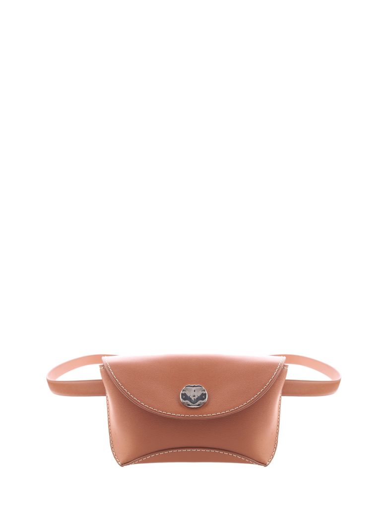 3.1 Phillip Lim Hudson Convertible Leather Belt Bag - Cuoio