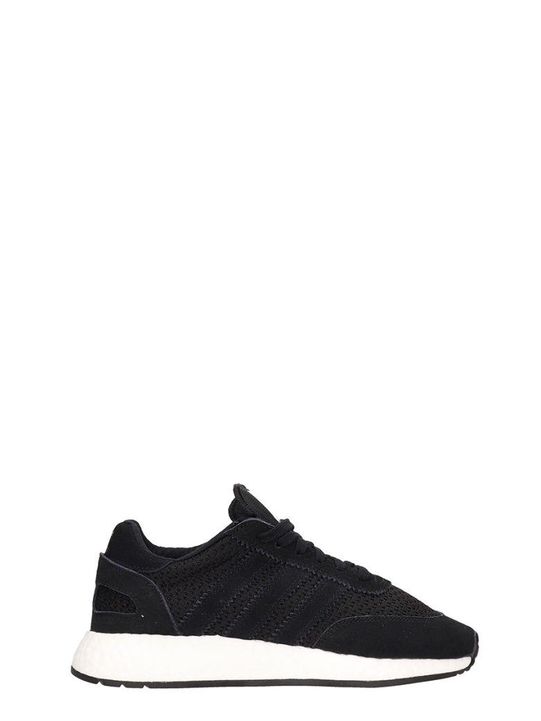Adidas Black Fabric I-5923 Sneakers - black