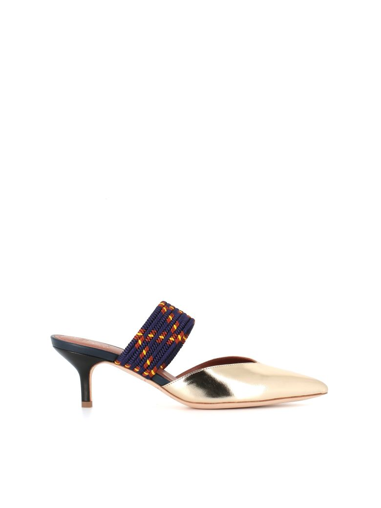 """Malone Souliers Sabot """"maisie 10"""" - Gold"""