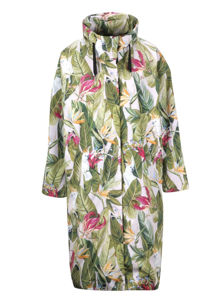 Woolrich Leaf Print Coat - Basic