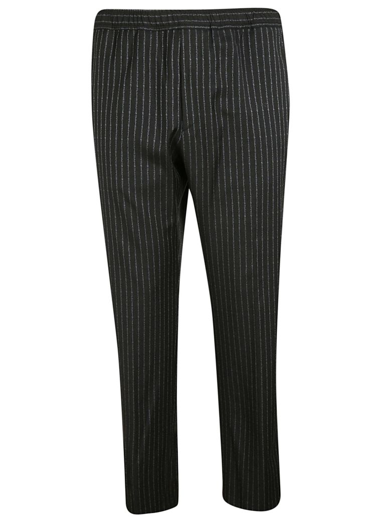 Gucci Striped Trousers - Gray