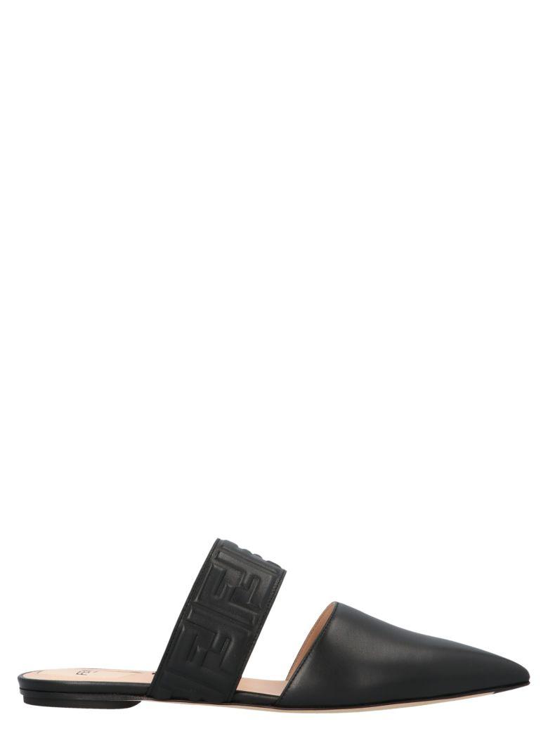 Fendi 'ff' Shoes - Black