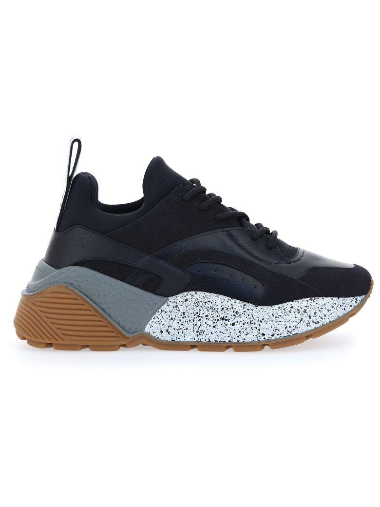Stella McCartney Eclypse Sneakers - Blk/blk/blk/blk/wht-grey/