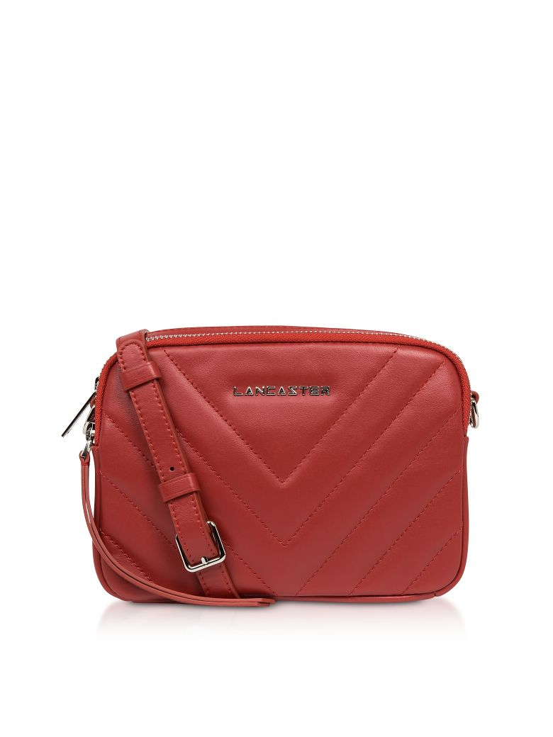 Lancaster Paris Parisienne Couture Small Crossbody Bag - Red