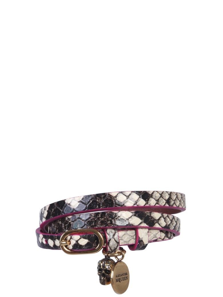 Alexander McQueen Double Turn Bracelet - MULTICOLOR