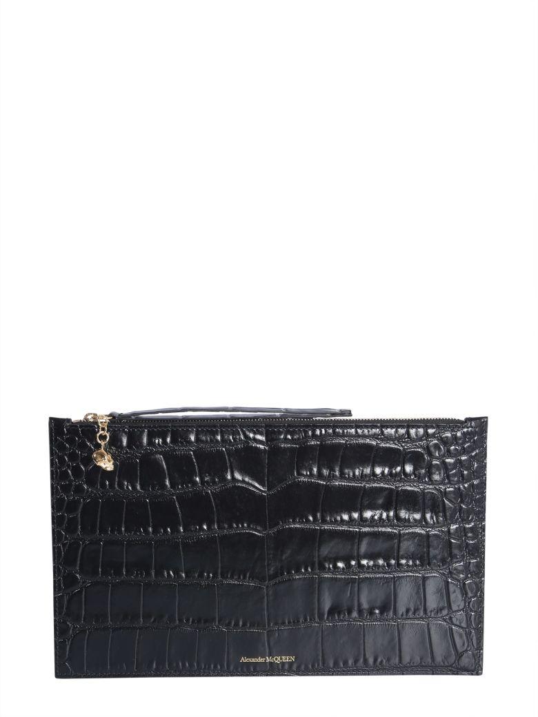 Alexander McQueen Zip-up Tech Pouch - Black