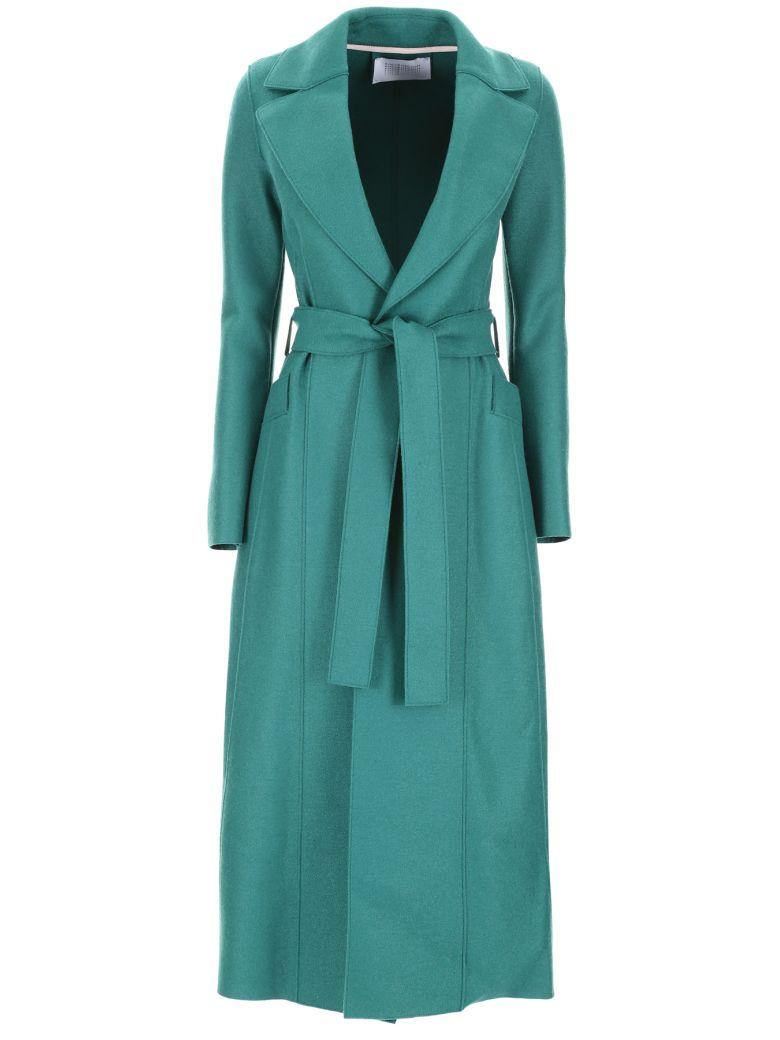 Harris Wharf London Long Coat With Belt - Basic