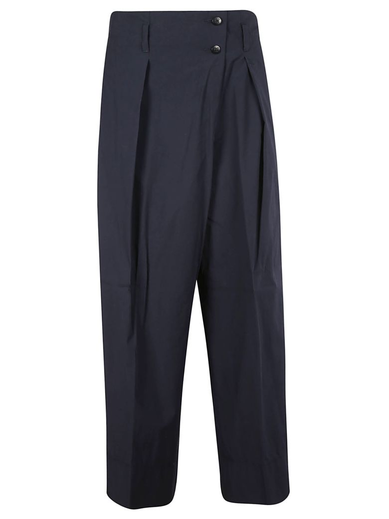 Brag-Wette Buttoned Trousers