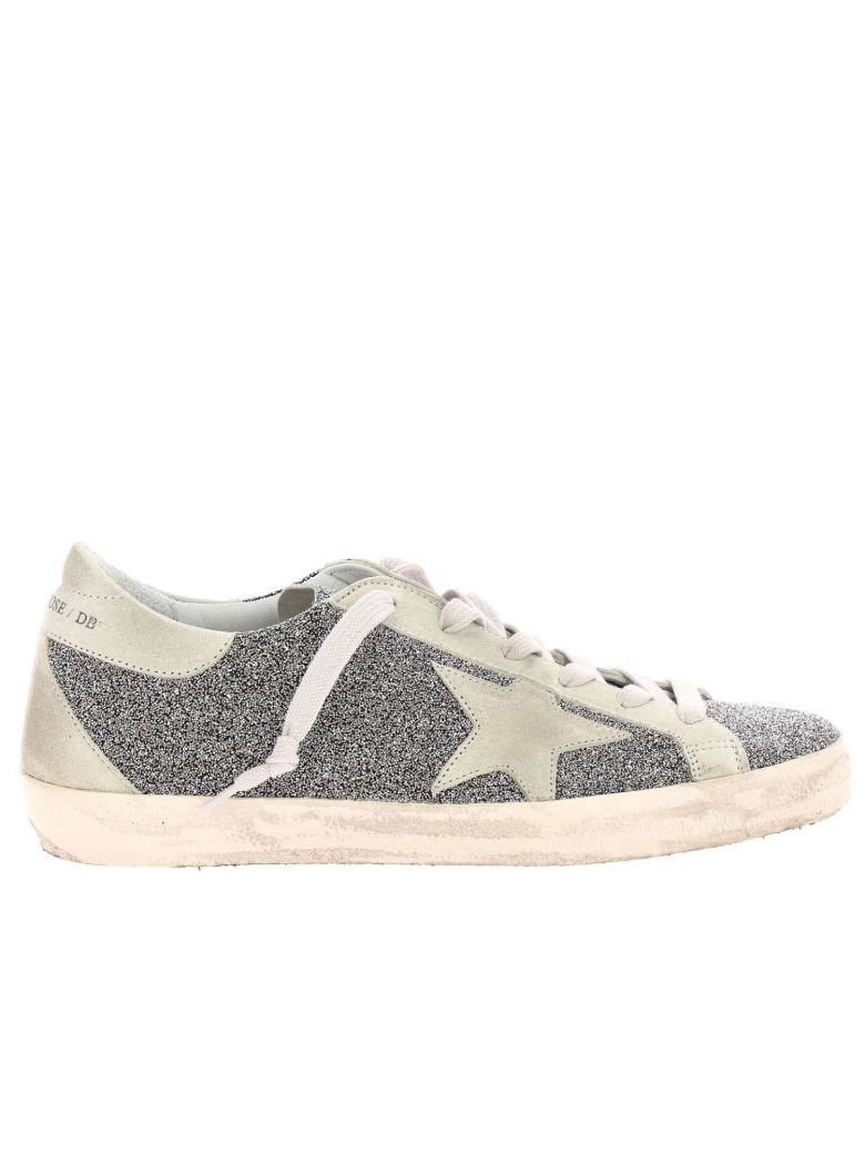 Golden Goose Sneakers Shoes Women Golden Goose - silver