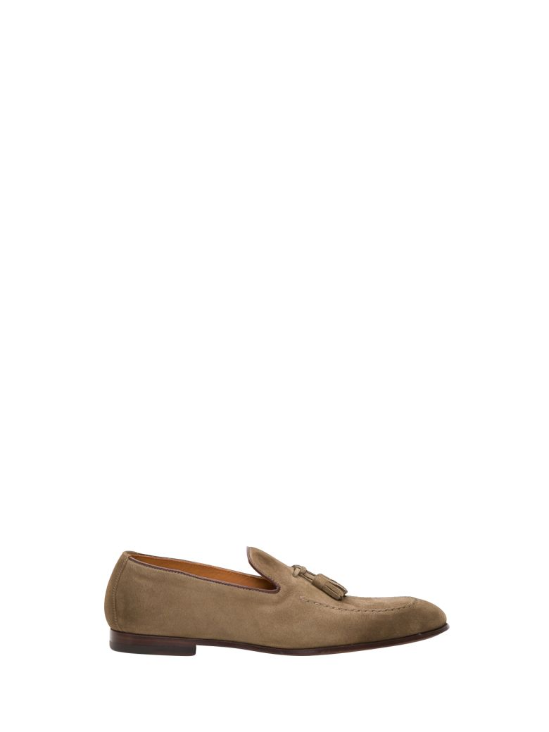 Doucal's Tassel Detail Loafer - Marrone