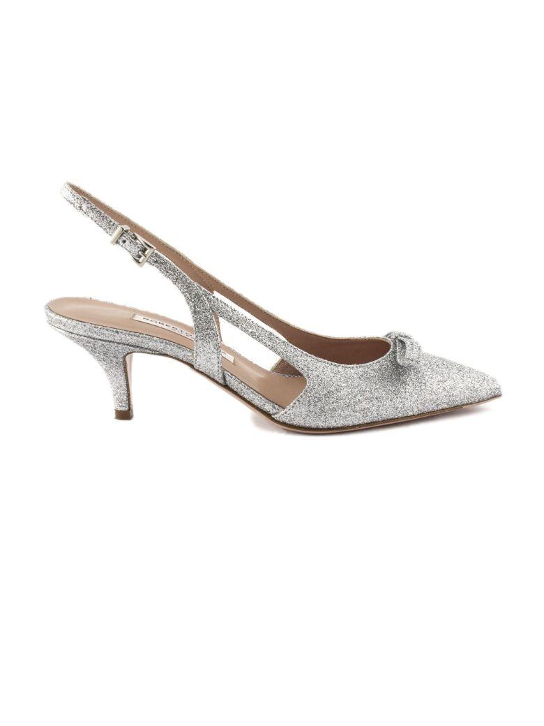 Roberto Festa Lorenza Pump In Silver Glitter - Argento