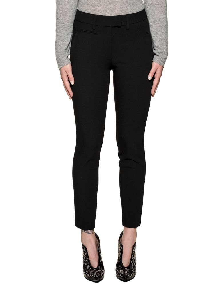 Dondup Black Perfect Trousers - Black