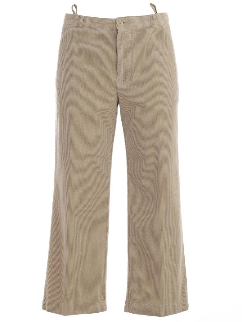 Aspesi Cropped Trousers - Beige