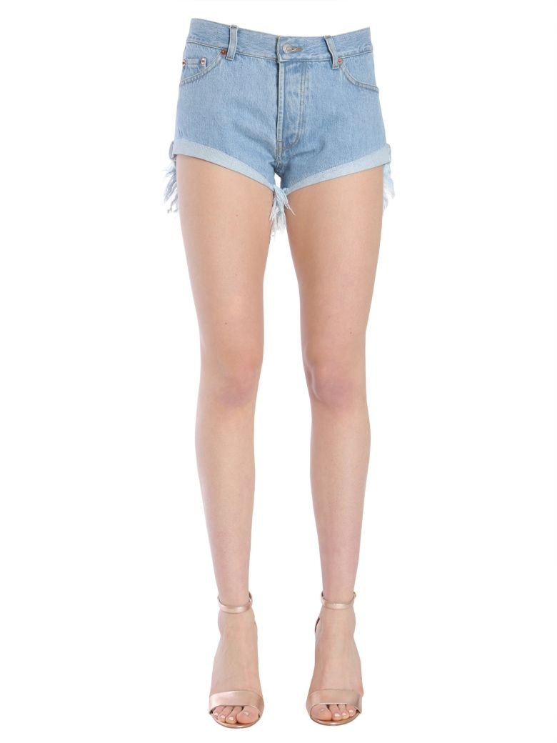 Forte Couture Zig Zag Shorts - DENIM