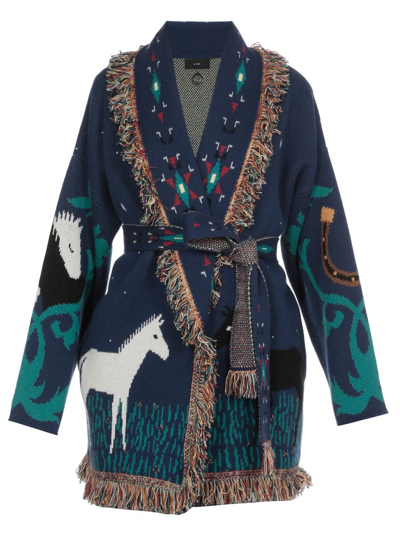Alanui Horses In Love Cardigan - Basic