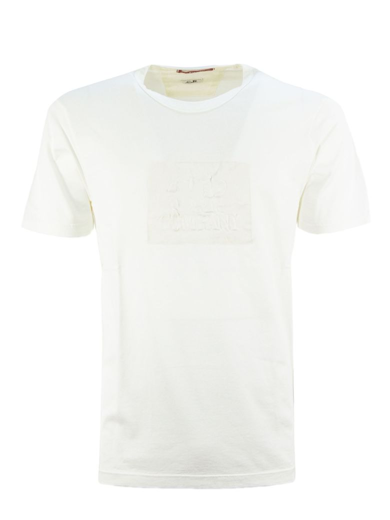C.P. Company White Cotton T-shirt - Bianco