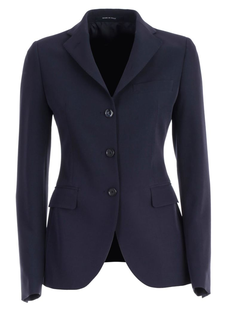 Tagliatore Single-breasted Blazer - Navy