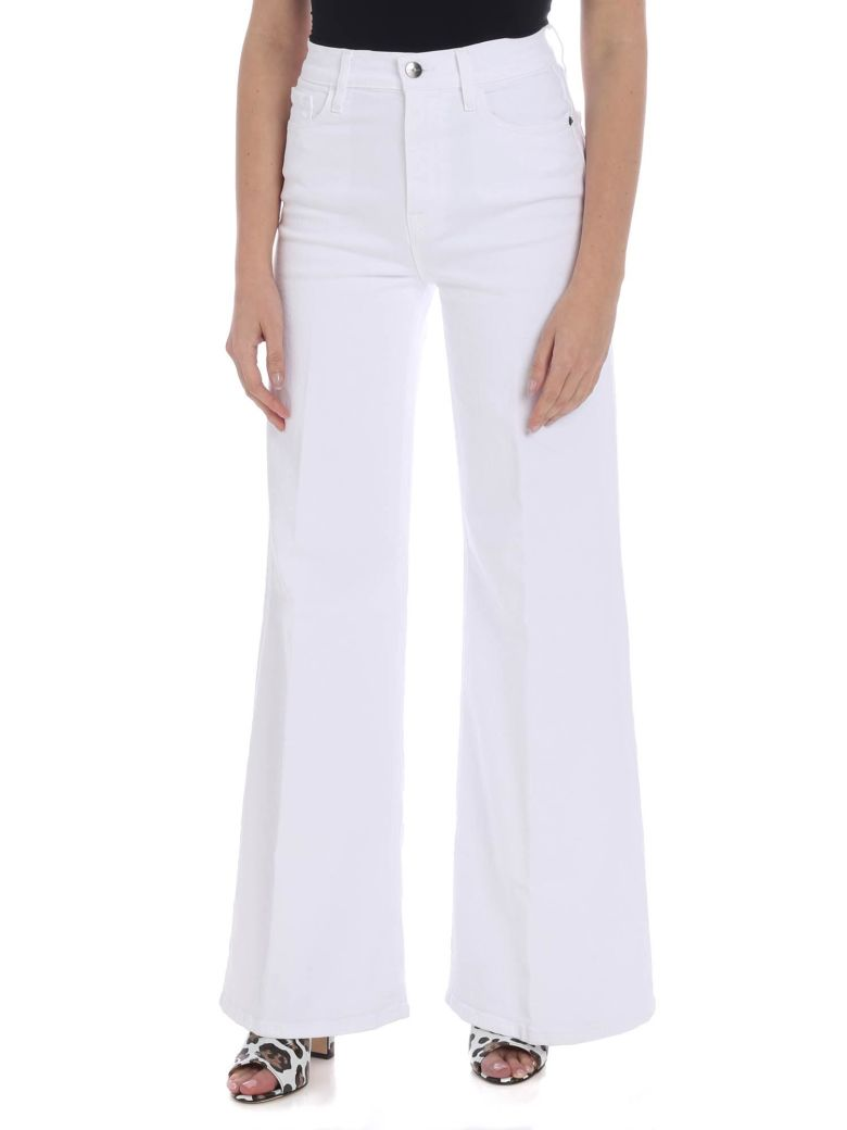 Frame - Le Palazzo Jeans - White