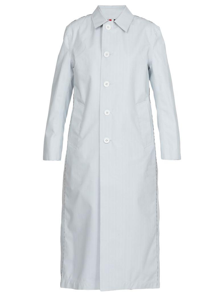 Thom Browne Reversible Coated Wool Raincoat - Basic