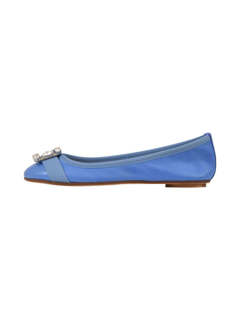 Anna Baiguera Annetteflex Ballerina Blue - Light blue