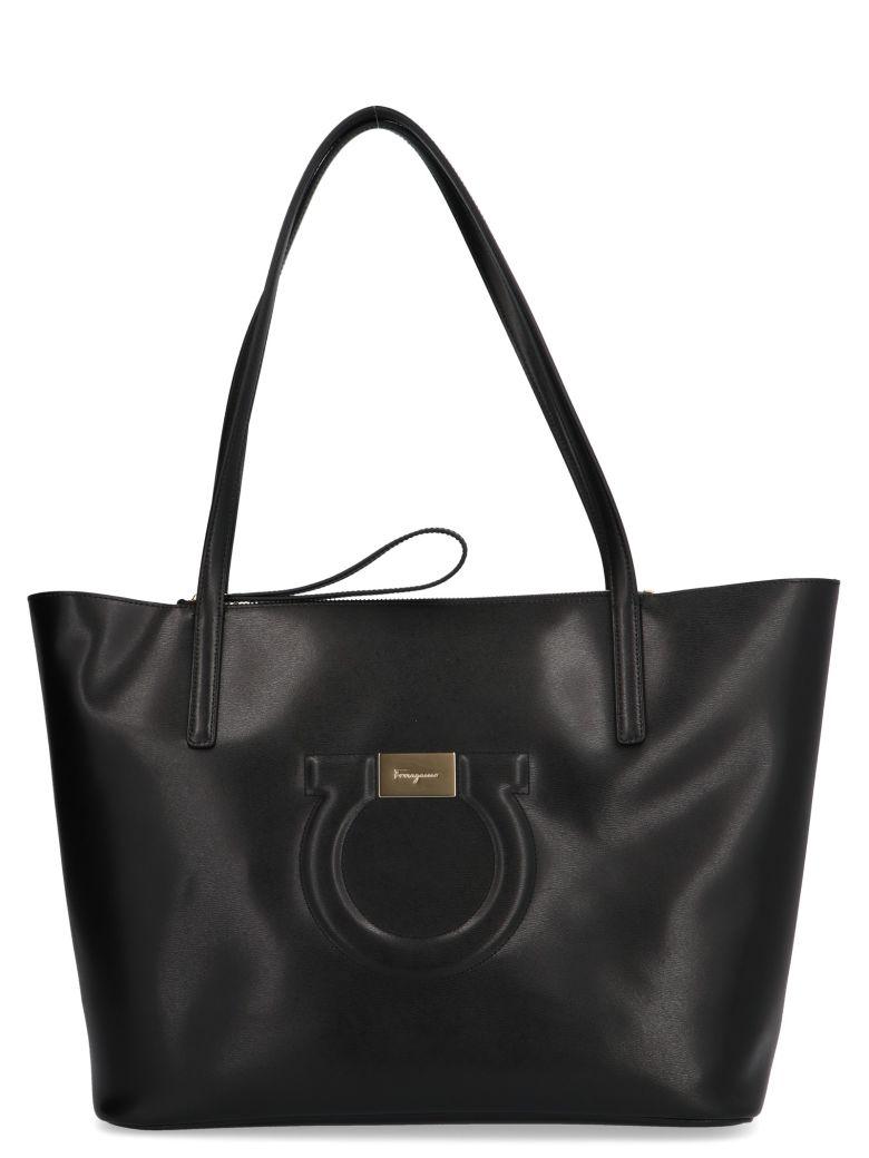 Salvatore Ferragamo City Bag - Black