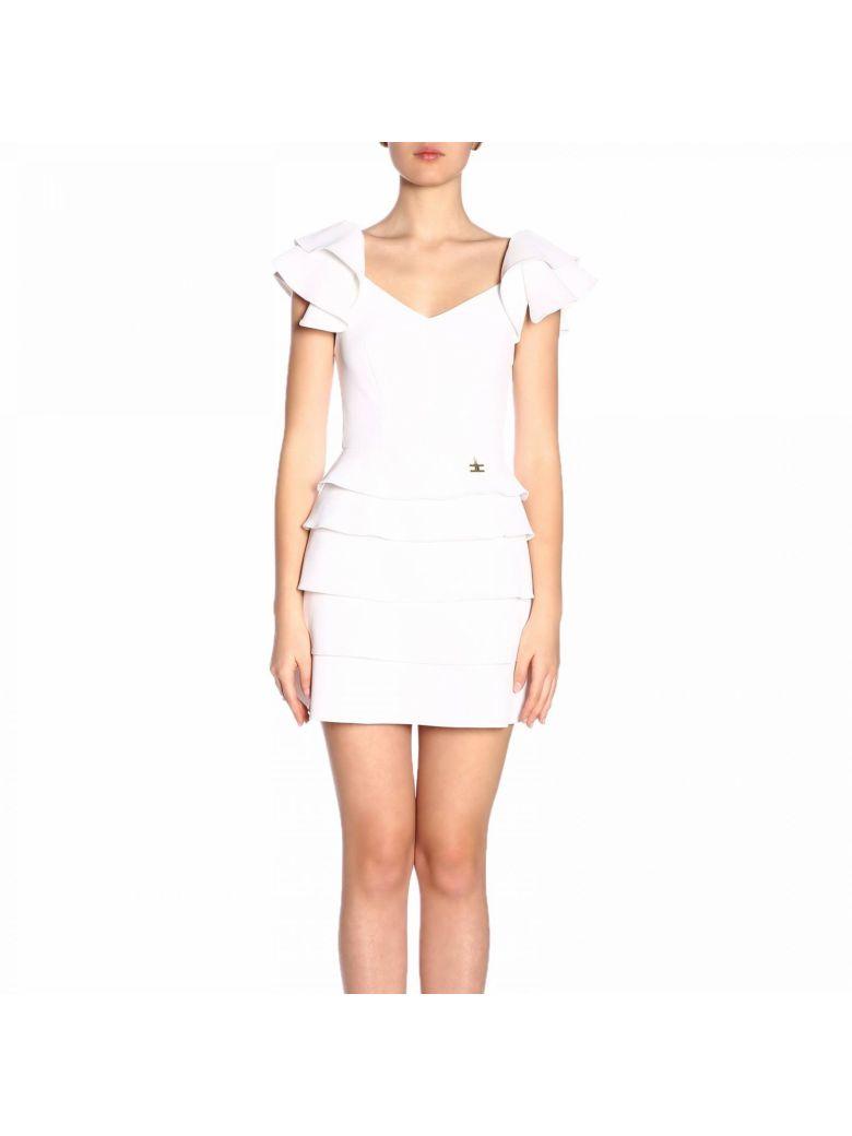 Elisabetta Franchi Celyn B. Elisabetta Franchi Dress Dress Women Elisabetta Franchi - White