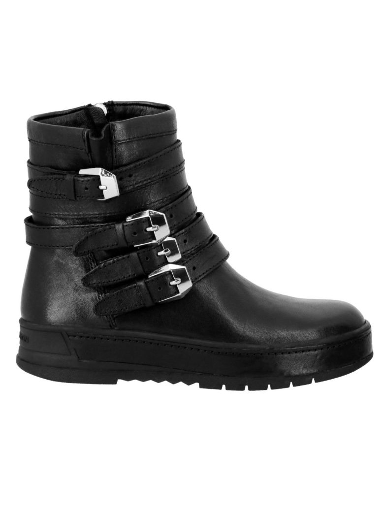 Crime london Flat Booties Shoes Women Crime London - black