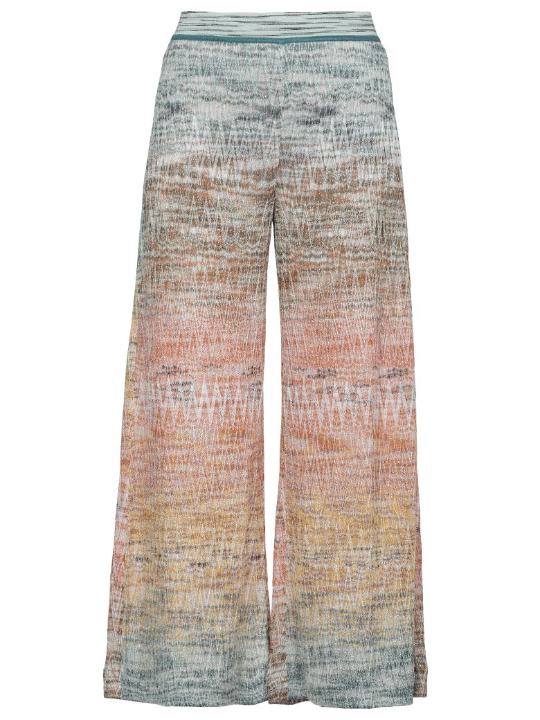 Missoni Knitted Pants - Multicolor